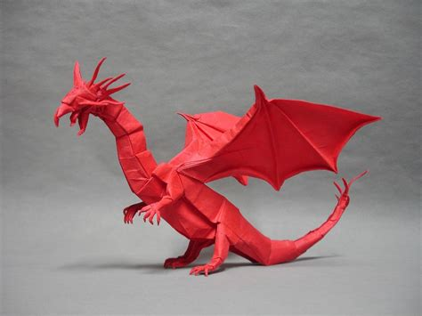 27 Spectacular Western-Style Origami Dragons