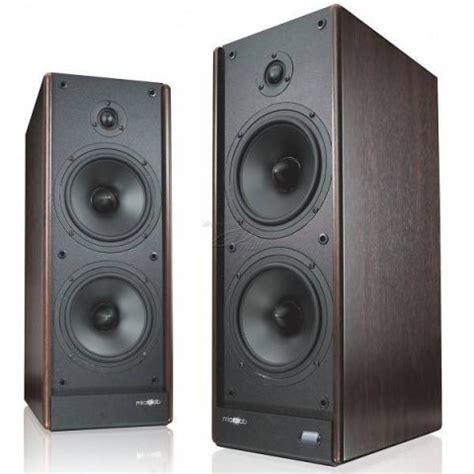 Microlab Solo 7C Wooden Tower Speaker now available in