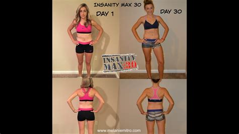 Insanity Max 30 Month 1 Review - YouTube