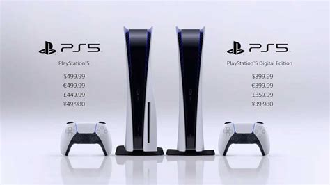 Sony PlayStation 5 Official Pricing Announced - Legit Reviews