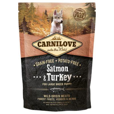 Carnilove Large Puppy Salmon and Turkey | zoohit