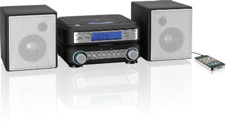 GPX HC221B Compact CD Player Stereo Home Music System with