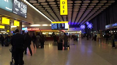 Heathrow Airport Terminal 4 departures lounge - 4th