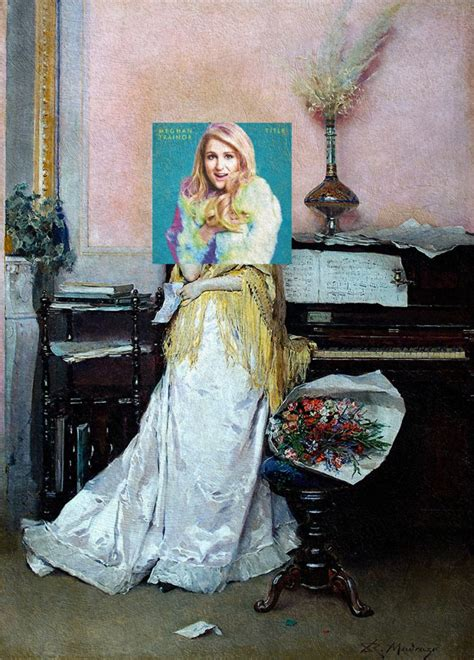 Brilliant mashups of album covers with classical paintings