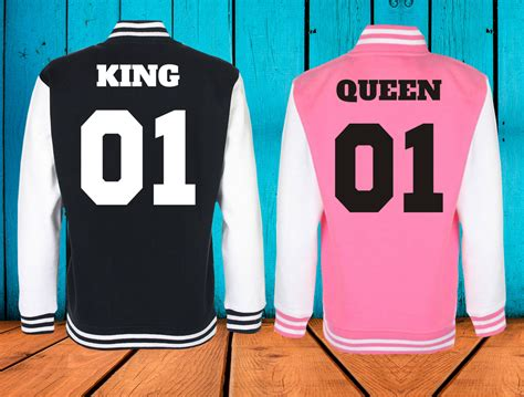 Mikiny pre páry King 01 / Queen 01