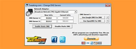 6 Free Auto DNS Changer And DNS Server Speed Test