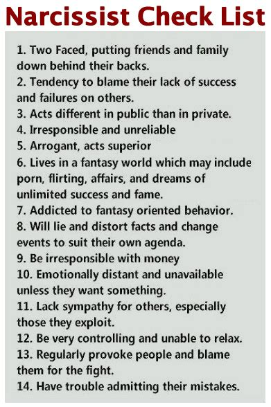 Narcissistic Personality Disorder   Psychopath Resistance