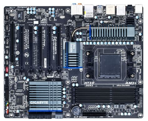 Gigabyte Introduces UEFI-Equipped 990FXA-UD5 Motherboard