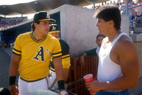 Jose Canseco sends twin to Celebrity Boxing match in his
