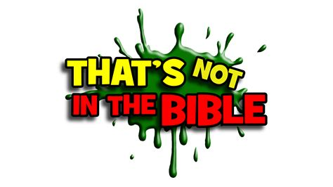 That's Not In The Bible (Part 2) God Will Never Give You