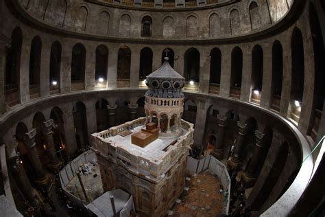 Tomb of Jesus reopens after original burial place