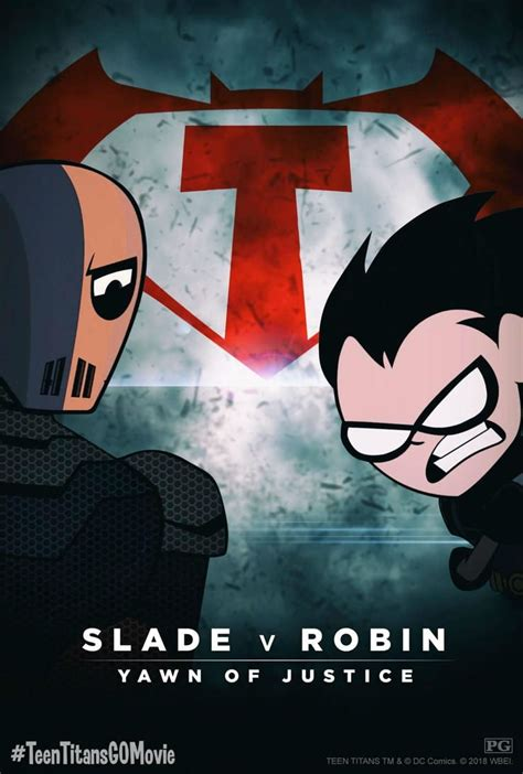 Teen Titans Go! to the Movies poster spoofs Batman v Superman