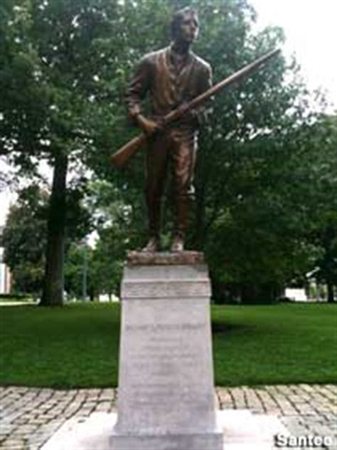 Raleigh, NC - Statue of First Rebel Killed in the Civil War