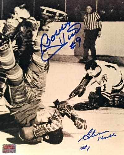Bobby Hull Memorabilia, Autographed & Signed