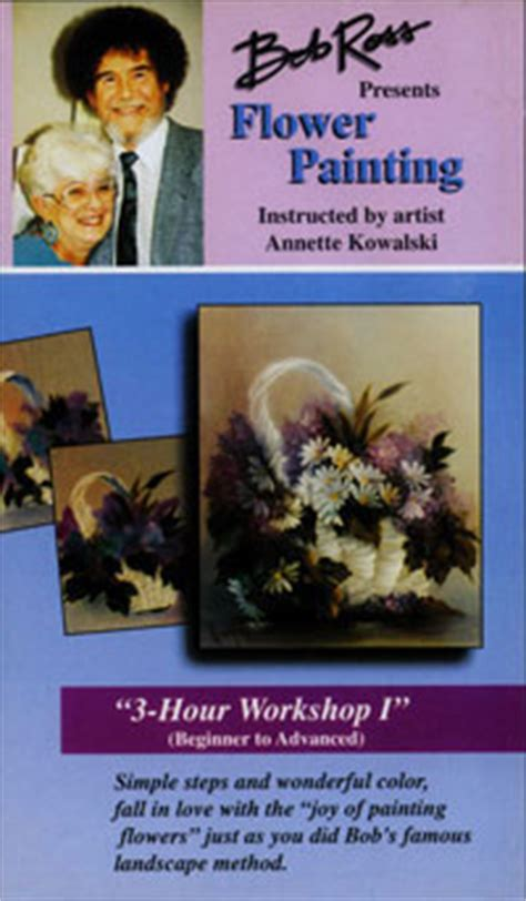 Bob Ross Joy of Painting VHS Videos - Learn create your
