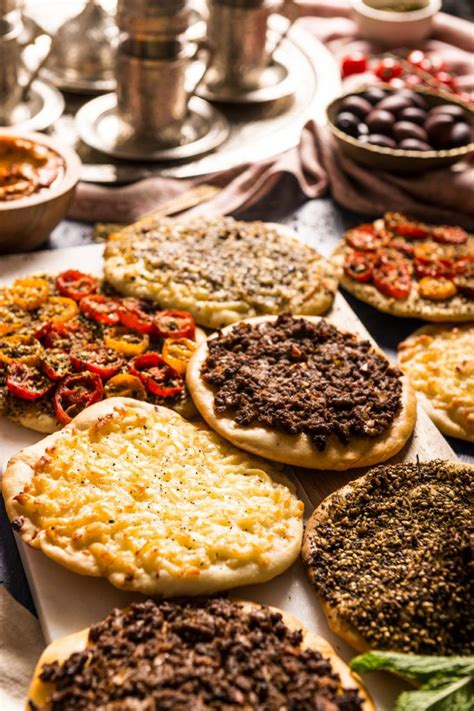 Manakish (Middle Eastern Pizzas) | Recipe | Middle east