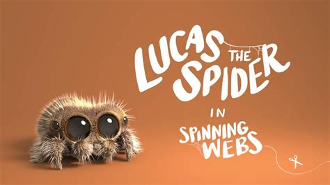 Lucas the Spider - Spinning Webs - YouTube