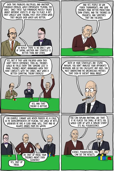 The Philosophy of the Science of Poker - Existential Comics