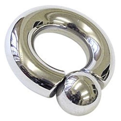 Surgical Steel Monster Ring - 10mm- Buy Jewellery