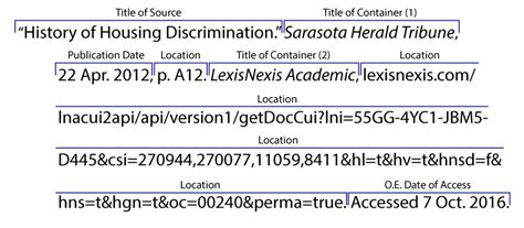 Online Sources - Citing Information - LibGuides at