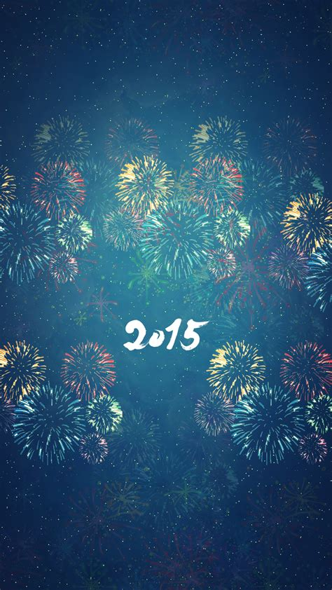 Happy new year 2015 wallpapers for iPhone and iPad