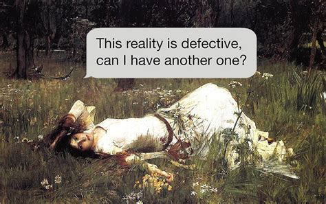 'Texts From Your Existentialist': When Classical Paintings