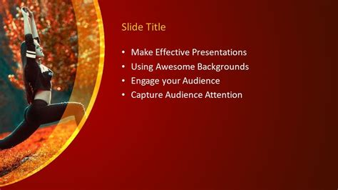 Free Yoga PowerPoint Template - Free PowerPoint Templates