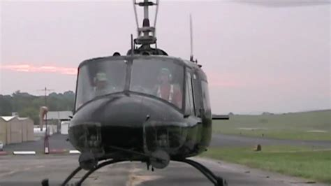 First time flying a UH-1 Huey - YouTube