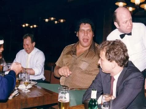 Andre The Giant; drinking; beer; alcohol | Daily Telegraph