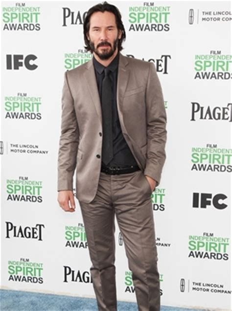 Body Measurements of Keanu Reeves with Height Weight Shoe