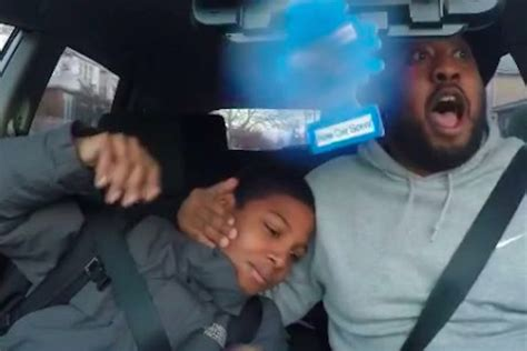 Watch This Dad Try To Be Cool Listening To Rap While His
