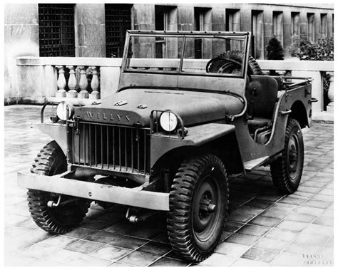 1941 Willys Overland Military Jeep WWII Photo Poster