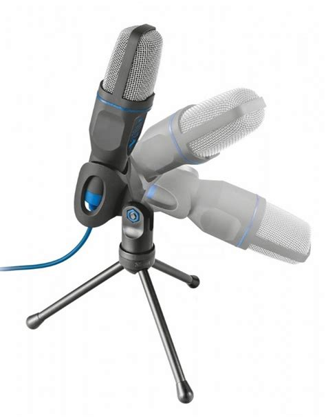 New Trust Micro USB Microphone for PC and Laptop (Includes